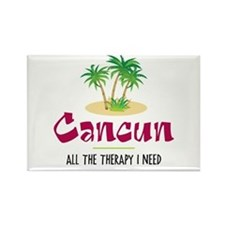 Cancun Therapy - Rectangle Magnet