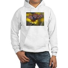 Butterfly on Yellow Flower Hoodie