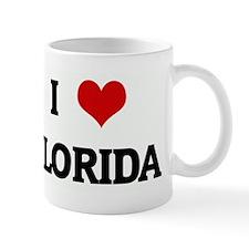 I Love FLORIDA Small Mug