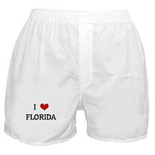 I Love FLORIDA Boxer Shorts
