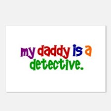 My Daddy Is A Detective PRIMARY Postcards (Package