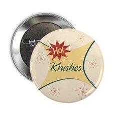 "Hot Knishes Retro 2.25"" Button"