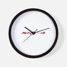 Red SRT shirt Wall Clock