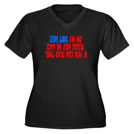 If you can read this DIRT BIKE Women's Plus Size V