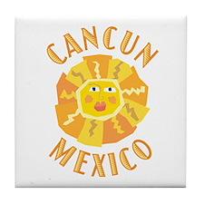 Cancun Sun - Tile Coaster