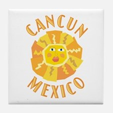 Cancun Sun - Tile Coaster