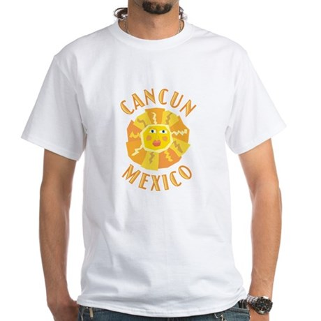 Cancun Sun - White T-Shirt