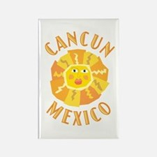 Cancun Sun - Rectangle Magnet