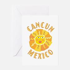 Cancun Sun - Greeting Card