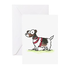 jack russell terrier Greeting Cards (Pk of 10)