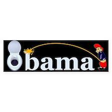 Whiz on Obama Bumper Bumper Stickers