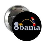 "Whiz on Obama 2.25"" Button (100 pack)"