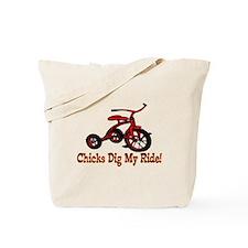 Dig My Ride Tote Bag