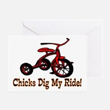 Dig My Ride Greeting Card