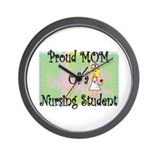 nursing student hierarchy Wall Clock
