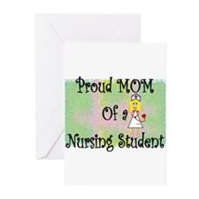 nursing student hierarchy Greeting Cards (Pk of 20
