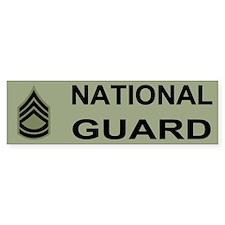 Sergeant First Class Bumper Sticker 2NG