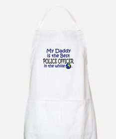 Best Police Officer In The World (Daddy) BBQ Apron