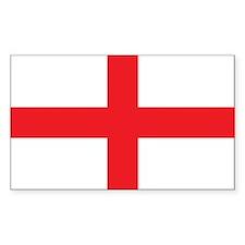 ENGLAND Rectangle Sticker 10 pk)