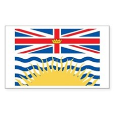 BRITISH-COLUMBIA Rectangle Decal