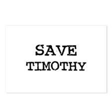 Save Timothy Postcards (Package of 8)