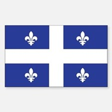 QUEBEC Rectangle Decal