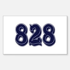 828 Rectangle Decal