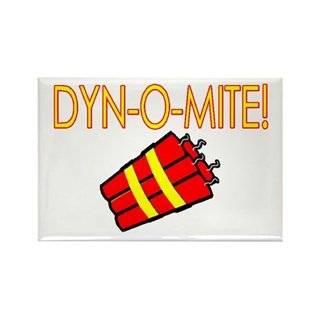 Dynomite Rectangle Magnet (10 pack)