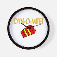 Dynomite Wall Clock