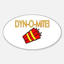 Dynomite Oval Decal