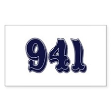 941 Rectangle Decal