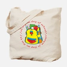 First 1st Day of School Tote Bag
