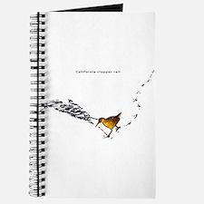 Clapper rail mad dash Journal