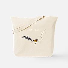Clapper rail mad dash Tote Bag