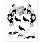 Glen Family Crest Small Poster