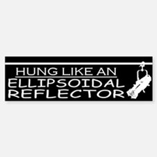 Ellipsoidal Reflector Bumper Bumper Bumper Sticker