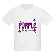 I Wear Purple For My Mother 14 T-Shirt