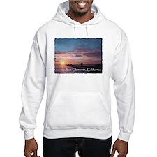 San Clemente pier sunset Hoodie