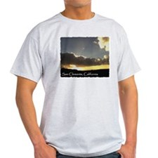 San Clemente sunset 1 - T-Shirt