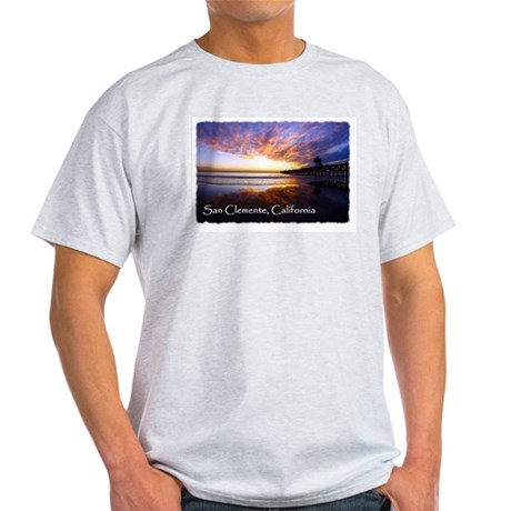 San Clemente pier 2 - Light T-Shirt