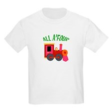 4 Year Old Train T-Shirt
