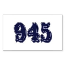945 Rectangle Decal