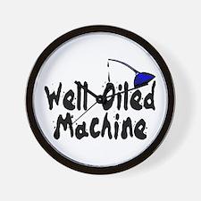 Oiled Machine Wall Clock