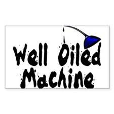 Oiled Machine Rectangle Decal