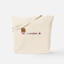 I crochet Tote Bag