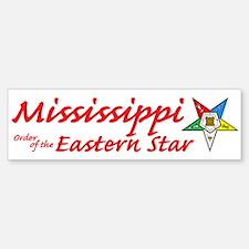 Mississippi Eastern Star Bumper Bumper Bumper Sticker