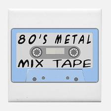 80's Mix Tape Tile Coaster