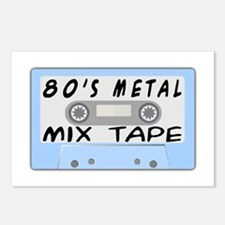 80's Mix Tape Postcards (Package of 8)