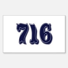 716 Rectangle Decal