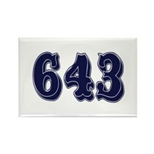 643 Rectangle Magnet